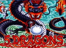 5 Dragons Slot online Games
