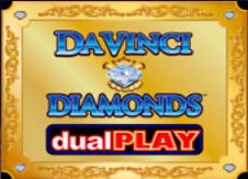 Da Vinci Diamonds Dual Play Slot Online