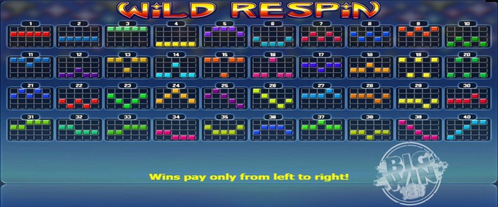 Wild Respin Slot Payline